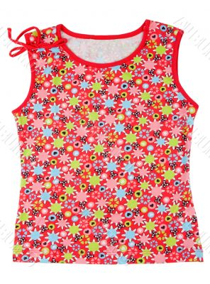 Children`s colored T-shirt