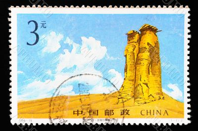 CHINA - CIRCA 1994: A Stamp printed in China shows ancient Beacon tower , circa 1994