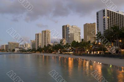 Honolulu Waikiki Sunrise