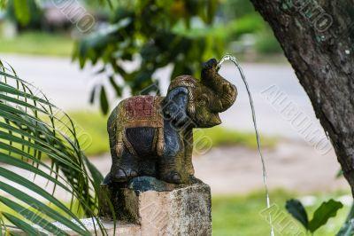 Decorative figure of an elephant