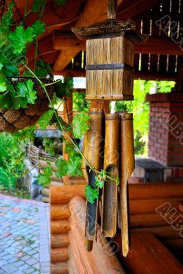 Chinese talisman made of bamboo
