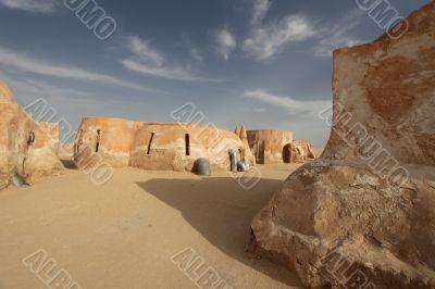 town in the Sahara Desert