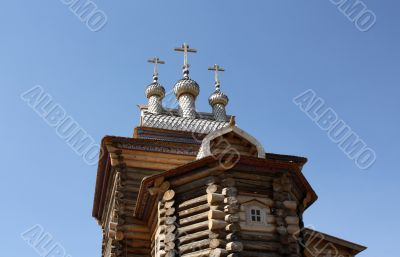 Building of the museum of wooden architecture in Kolomenskoye (M