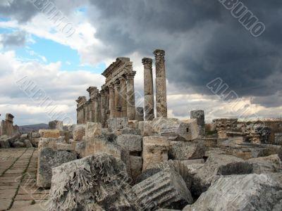 Apamea before a thunder-storm