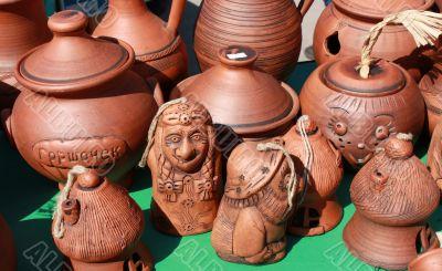Clay souvenirs