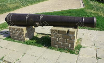 Cast gun of the eighteenth century
