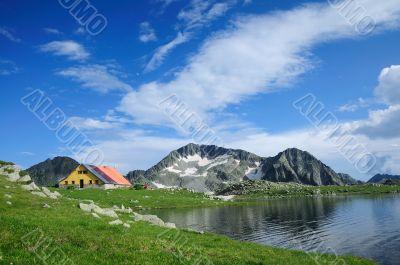 Tevno Lake in Pirin Mountain, Bulgaria
