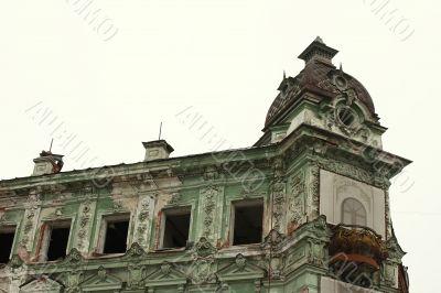 Restoration of historic building