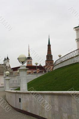 Inside the Kazan Kremlin