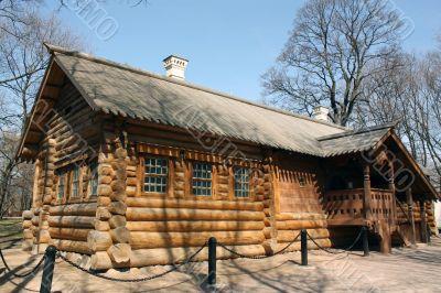 "House of Peter I, XVIII century. (""sovereign Svetlitsa"")"