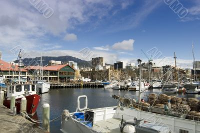 Hobart Constitution Docks