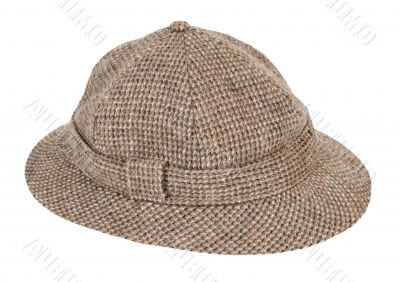 Houndstooth Pith Hat