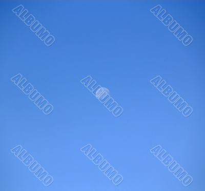 Skyscape with Moon