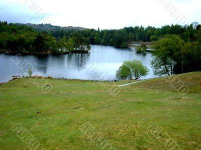 Lake and woodland