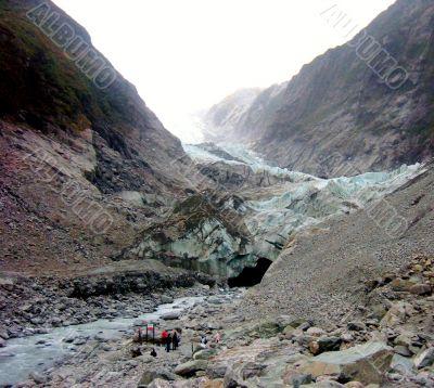 Glacial Path And Base Camp