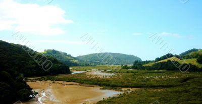River and Scrub land