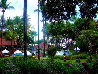 Beautiful Tropical Resort pool