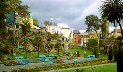 Picturesque Park Scene