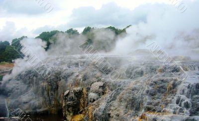 Steamy Volcanic Rock