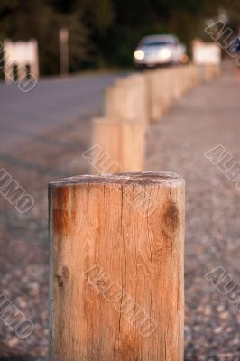 Posts On A Road