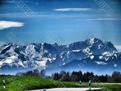 bavarian alpes