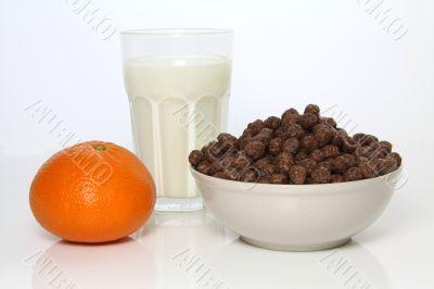 Healthy and tasty breakfast