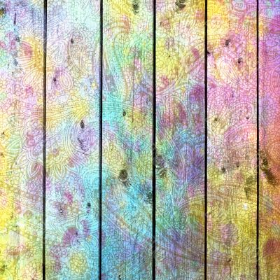 abstract background colorful board