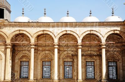 Landmark of a Syrian mosque