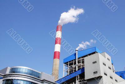 Heat-engine plant