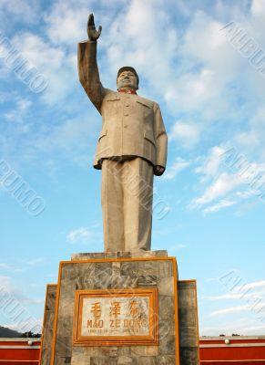 Chairman Mao`s Statue