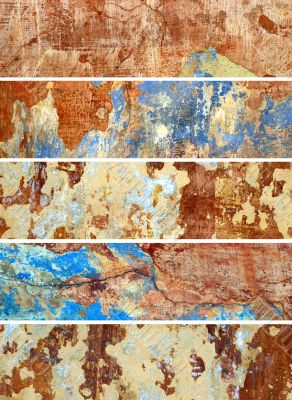 old Wall. Collection of banners for web sites