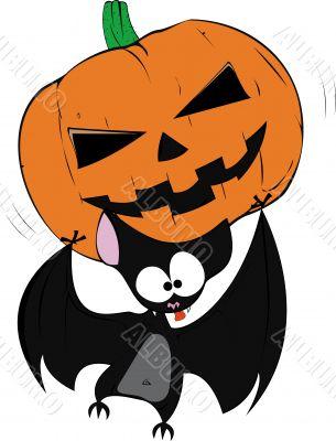 Fun halloween bat