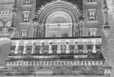 Balcony of Igumnov House in Moscow