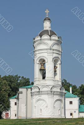 Bell tower in the suburban village of Kolomenskoye