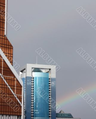 Houses and the rainbow
