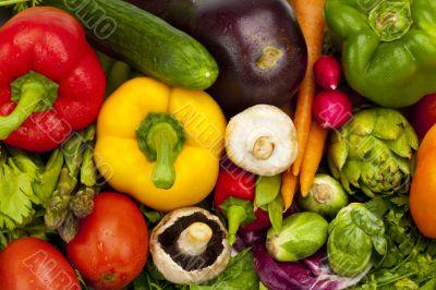 Crisp Summer Vegetables