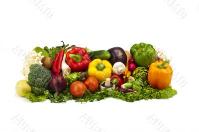 Fresh and Tasty Vegetable Arrangement