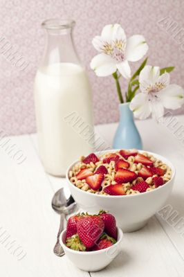 red berries cereal