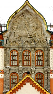 facade of the Tretyakov Gallery in Moscow