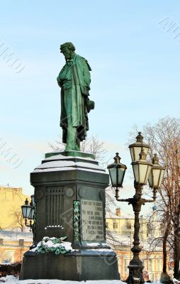 Pushkin  in Moscow
