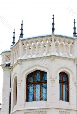 Home built  in eclectic style (detail) by the architector Shekht