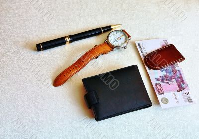 Accessories of business man