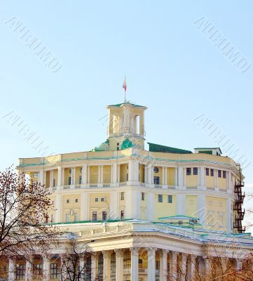building of the theater of the Russian army