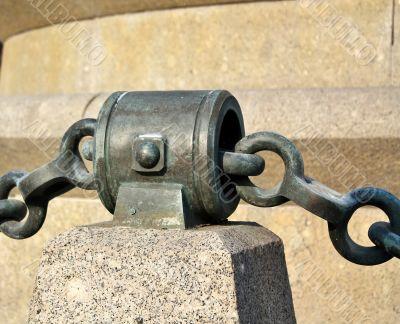Cast iron chain