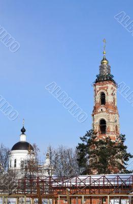 church and belfry of the St. Nicholas Berlyukovsky Monastery