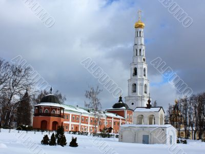 Bell Tower and chapel of the Nicholas Ugreshsky Monastery