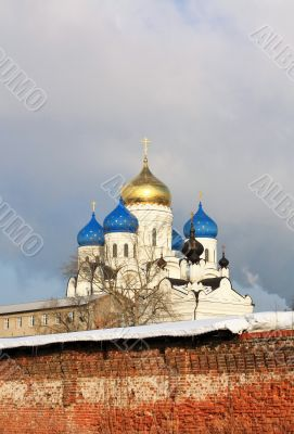 Domes of the Nicholas Ugreshsky Monastery