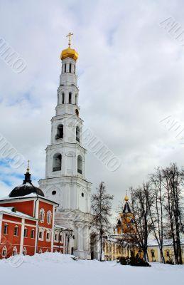 Bell Tower of the Nicholas Ugreshsky Monastery