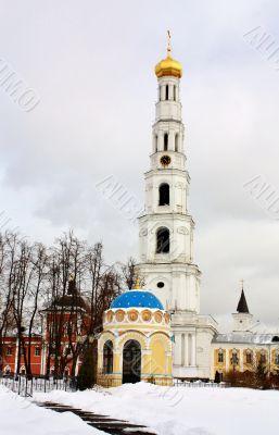 Bell Tower and St. Nicholas chapel of the Nicholas Ugreshsky Mon