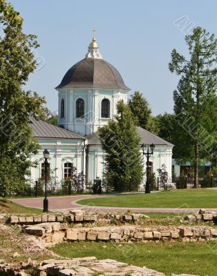 orthodox church in Tsaritsyno, Moscow